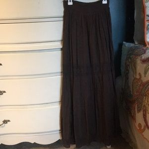Candies Brown Maxi Skirt